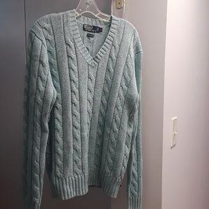 POLO silk sweater